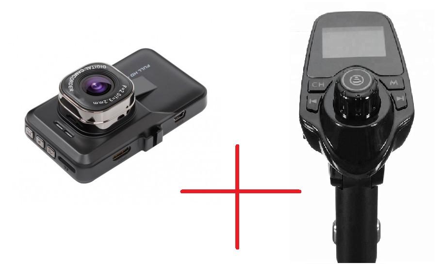 Set Promo Modulator Auto S11 + Camera Auto T616 Full Hd