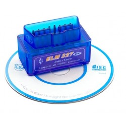 Interfata tester auto multimarca, ELM 327, prin Bluetooth, OBD2 V2.1