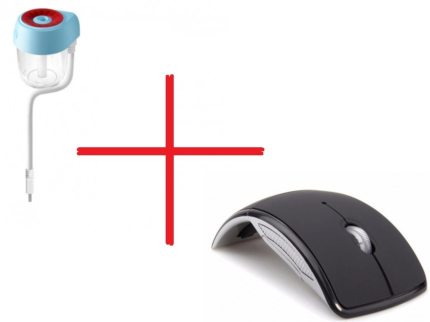 Set Promo Mouse Wireless Pliabil M1 + Umidificator Aer Auto BC22 cu Usb imagine techstar.ro 2021