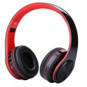 Casti Bluetooth Wireless W802 ROSU Over Ear Pliabile