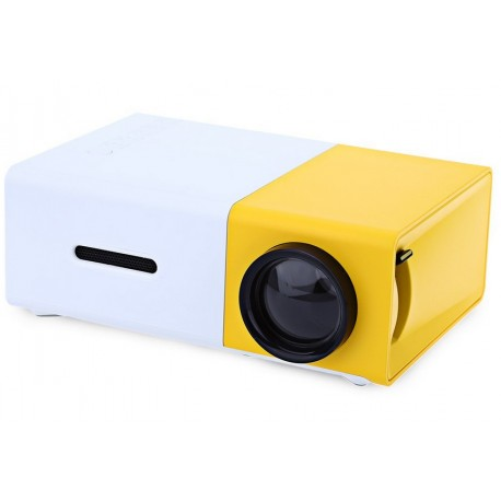 Videoproiector LED mini portabil YG300 400-600 LM 1080P Full Hd