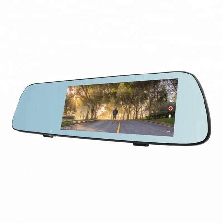 Camera Video Auto Tip Oglinda T709 DUBLA FULL HD TouchScreen 7'' 12MP