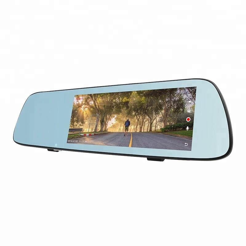 Camera Video Auto Tip Oglinda T709 DUBLA FULL HD TouchScreen 7'' 12MP imagine techstar.ro 2021