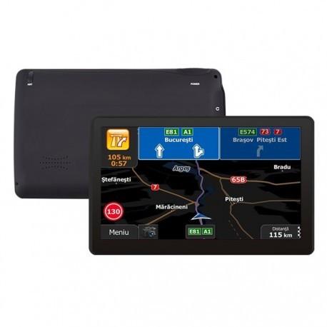 Gps Navigator Auto Techstar M9X cu 256 Ram Windows CE, cu Display de 7