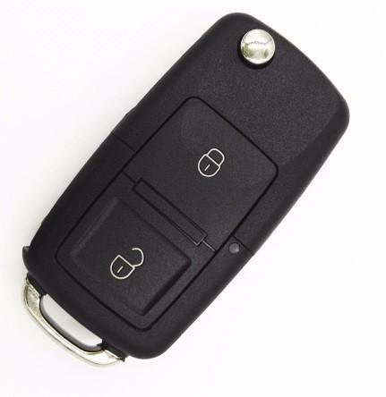 Carcasa cheie VW tip briceag, 2 butoane, LED la mijloc imagine techstar.ro 2021