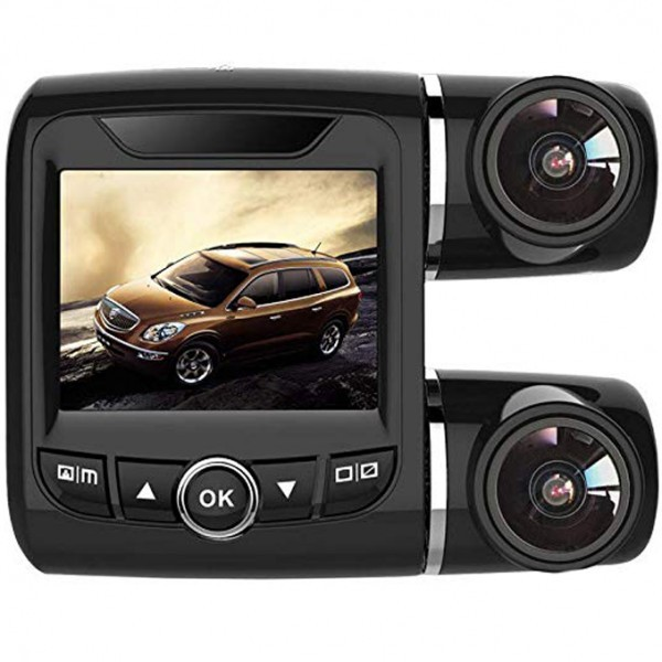Camera Auto iUni Dash T3, Dual Cam, Full HD, Display 2.0 inch, Senzor G, Detectie Miscare imagine techstar.ro 2021