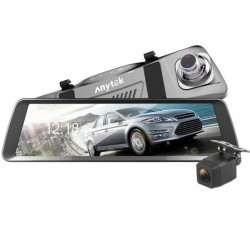 Camera Auto Oglinda iUni Dash T90, Dual Cam, Touchscreen, Display 9.88 inch, Full HD, Night Vision, WDR, 170 grade, by Anytek