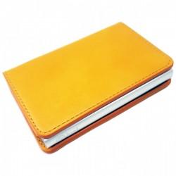 Portofel unisex, port card iUni P1, RFID, Compartiment 8 carduri, Portocaliu