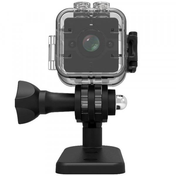 Mini Camera Spion iUni SQ12, Full HD 1080p, Audio Video, Night Vision, Unghi filmare 155 grade imagine techstar.ro 2021
