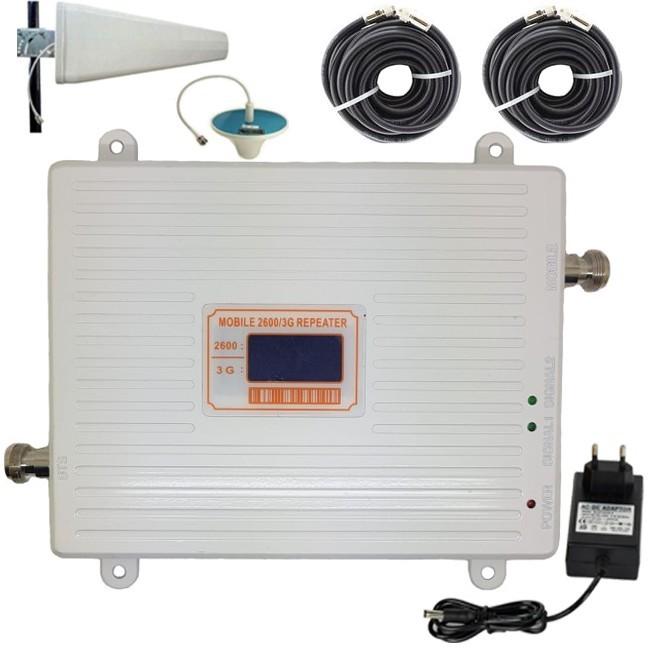 Amplificator semnal GSM 4G / 3G iUni KW17G-GW, 2100 / 2600 MHz, Digital