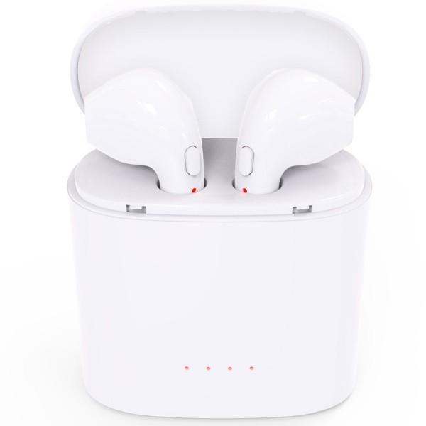 Casti Bluetooth iUni CB09, White imagine techstar.ro 2021
