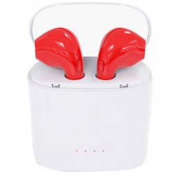Casti Bluetooth iUni CB09, Red