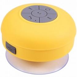 Boxa Portabila Bluetooth iUni DF16, 3W, Rezistenta la stropi de apa, USB, Galben