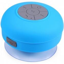 Boxa Portabila Bluetooth iUni DF16, 3W, Rezistenta la stropi de apa, USB, Albastru