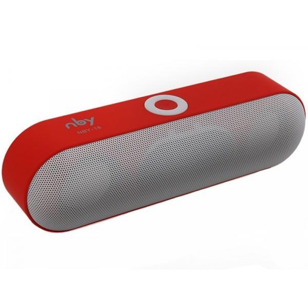 Boxa Portabila Bluetooth iUni DF19, 3W, USB, TF CARD, AUX-IN, Gri-Rosu