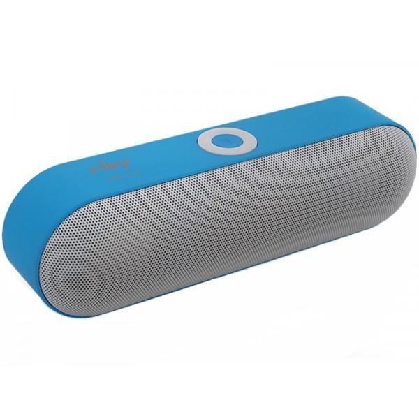 Boxa Portabila Bluetooth iUni DF19, 3W, USB, TF CARD, AUX-IN, Gri-Albastru