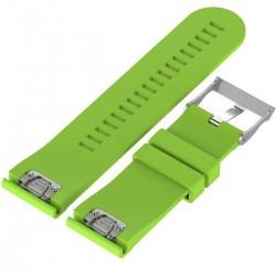 Curea ceas Smartwatch Garmin Fenix 3 / Fenix 5X, 26 mm Silicon iUni Light Green