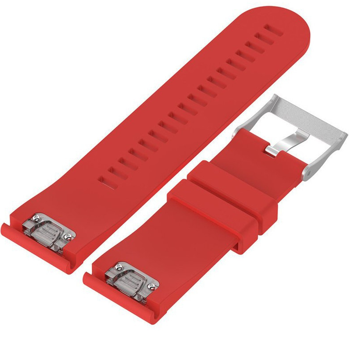 Curea ceas Smartwatch Garmin Fenix 3 / Fenix 5X, 26 mm Silicon iUni Red imagine techstar.ro 2021