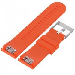 Curea ceas Smartwatch Garmin Fenix 3 / Fenix 5X, 26 mm Silicon iUni Orange