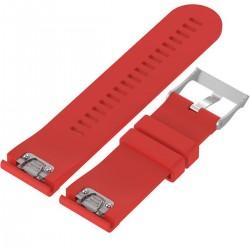 Curea ceas Smartwatch Garmin Fenix 5, 22 mm Silicon iUni Red