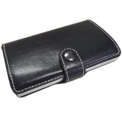 Portofel unisex, port card iUni P20, RFID, Compartiment 6 carduri, Negru