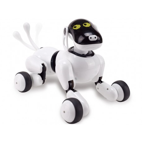 Robot Catel interactiv iUni Smart-Dog Puppy Go, 12 comenzi vocale