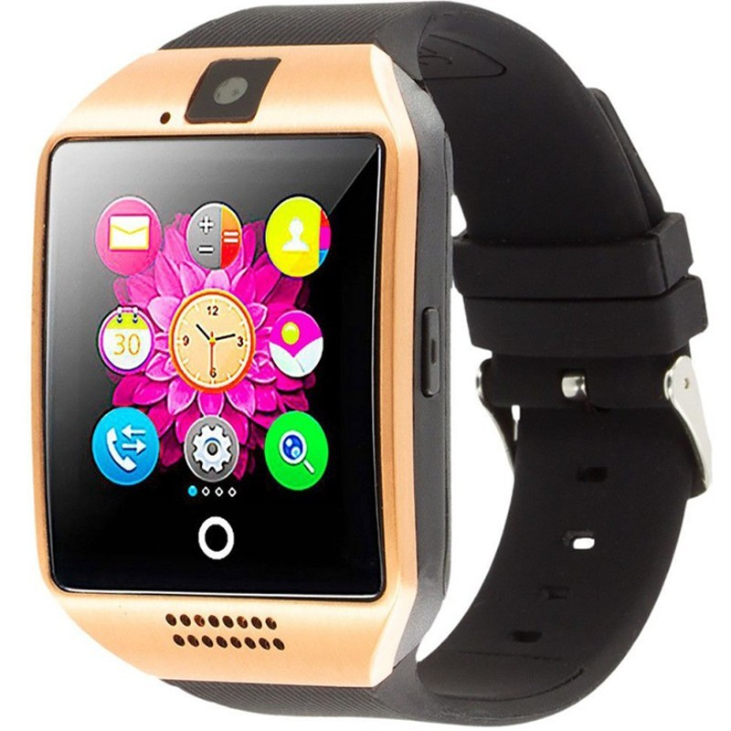 Smartwatch cu telefon iUni Q18, Camera, BT, 1,5 inch, Auriu imagine techstar.ro 2021
