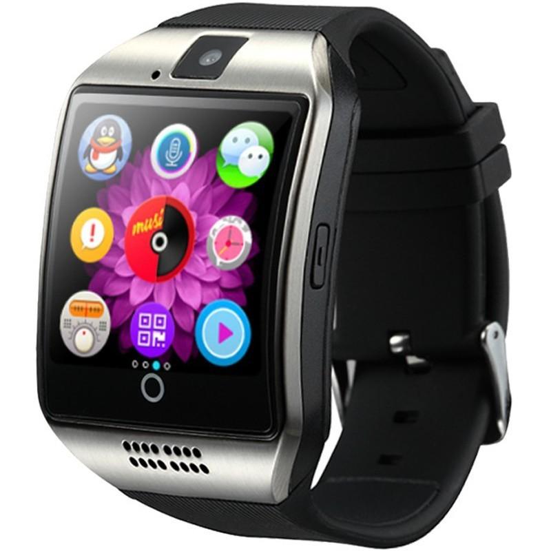 Smartwatch cu telefon iUni Q18, Camera, BT, 1.5 inch, Argintiu imagine techstar.ro 2021