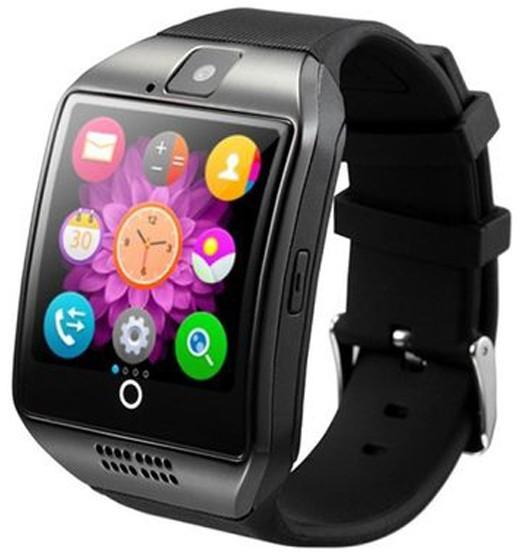 Smartwatch cu telefon iUni Q18, Camera, BT, 1,5 inch, Negru
