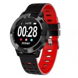 Bratara Fitness iUni CF58, Display OLED, Bluetooth, Pedometru, Monitorizare Puls, Notificari, Rosu