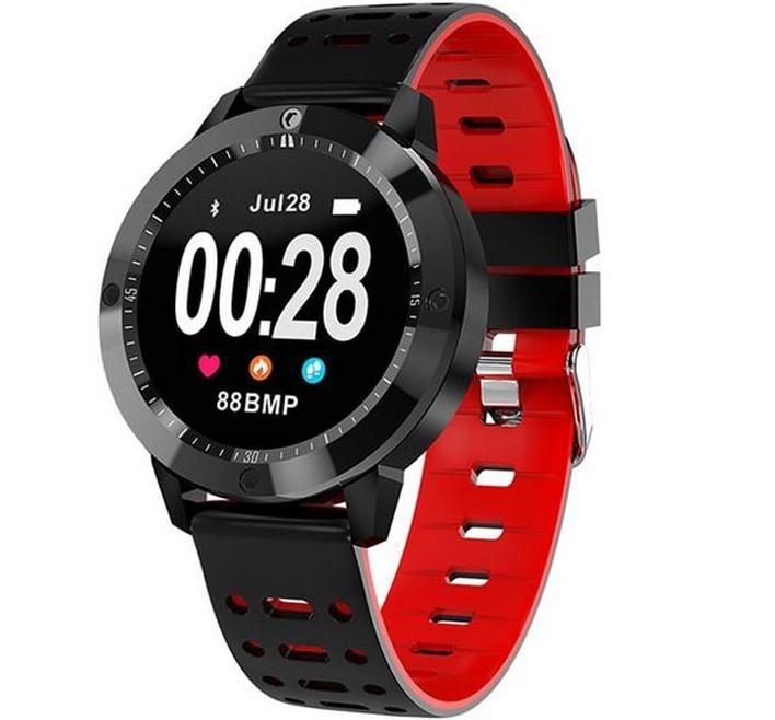 Bratara Fitness iUni CF58, Display OLED, Bluetooth, Pedometru, Monitorizare Puls, Notificari, Rosu imagine techstar.ro 2021