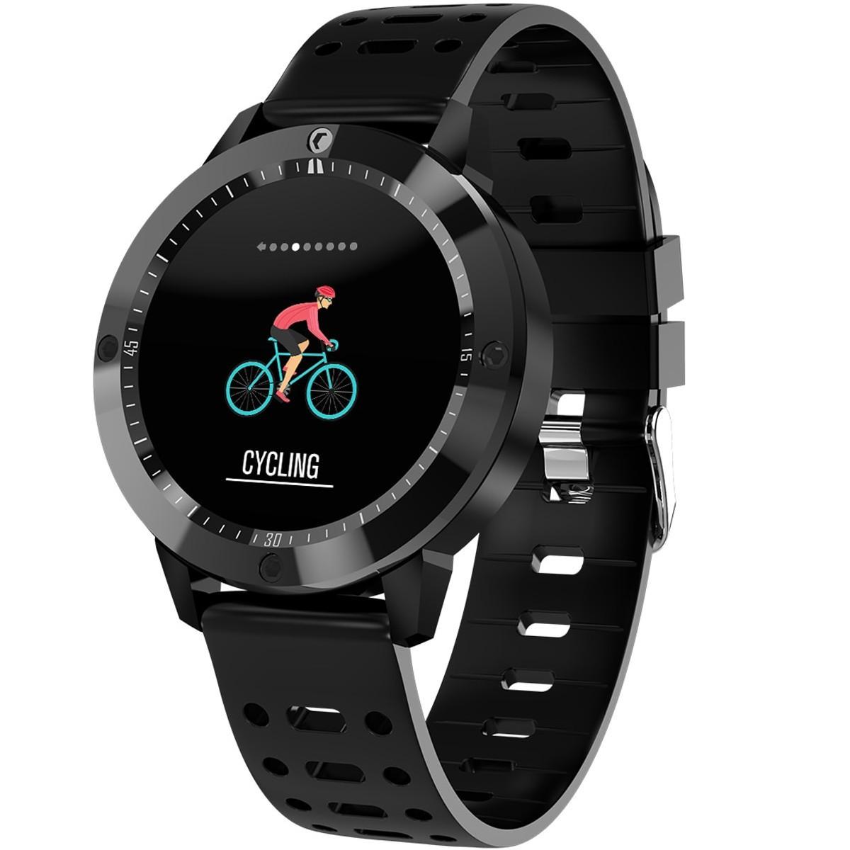 Bratara Fitness iUni CF58, Display OLED, Bluetooth, Pedometru, Monitorizare Puls, Notificari, Negru imagine techstar.ro 2021