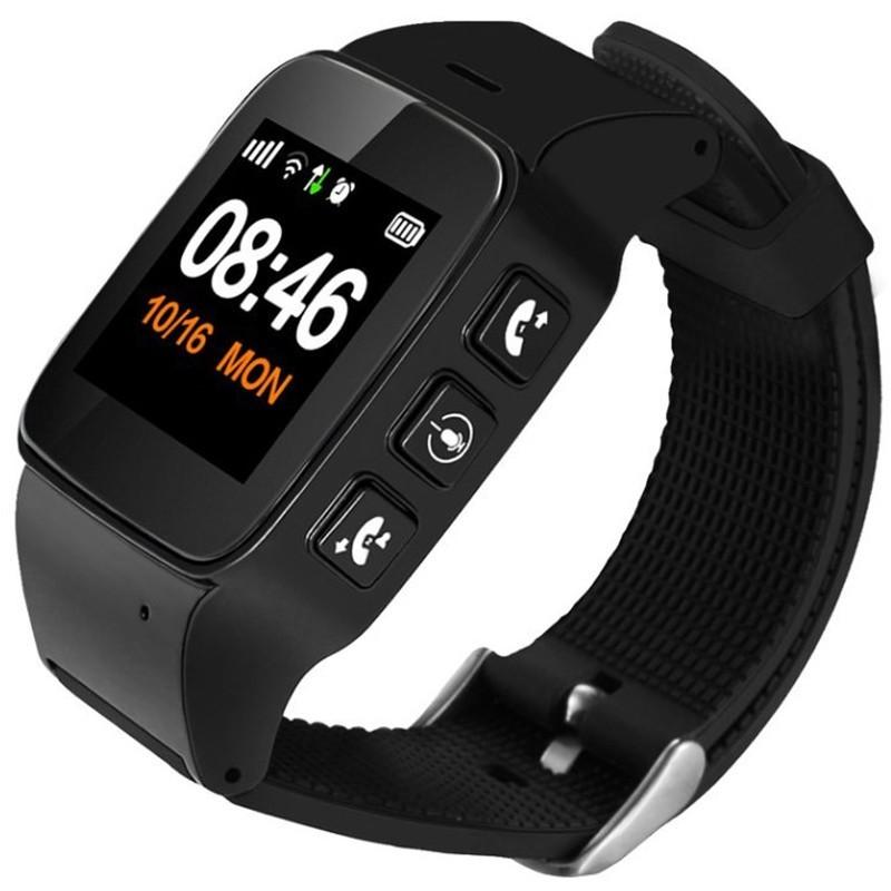 Ceas GPS Copii si Seniori iUni U100 Plus, Telefon incorporat, Display Color, Wi-fi, Buton SOS, Black imagine techstar.ro 2021