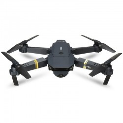Drona iUni N58, Brate Pliabile, WiFi, Camera 2MP, Transmisie Live pe Telefon, Negru