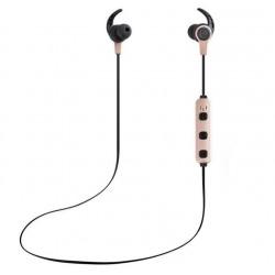 Casti Bluetooth iUni CB41 Cu Magnet, Handsfree, Gold