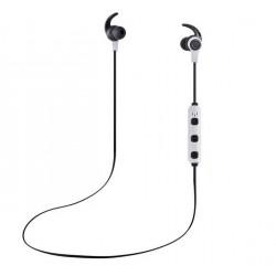 Casti Bluetooth iUni CB41 Cu Magnet, Handsfree, Silver