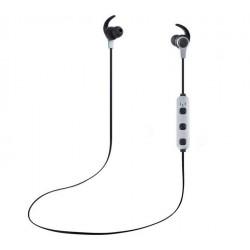 Casti Bluetooth iUni CB41 Cu Magnet, Handsfree, Gray