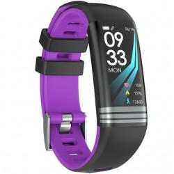 Bratara Fitness iUni G26, Display OLED 0.96 inch, Bluetooth, Pedometru, Notificari, Negru