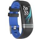 Bratara Fitness iUni G26, Display OLED 0.96 inch, Blu