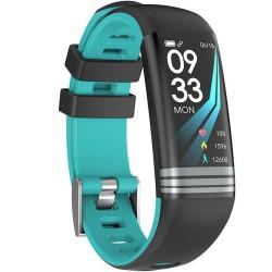 Bratara Fitness iUni G26, Display OLED 0.96 inch, Bluetooth, Pedometru, Notificari, Blue
