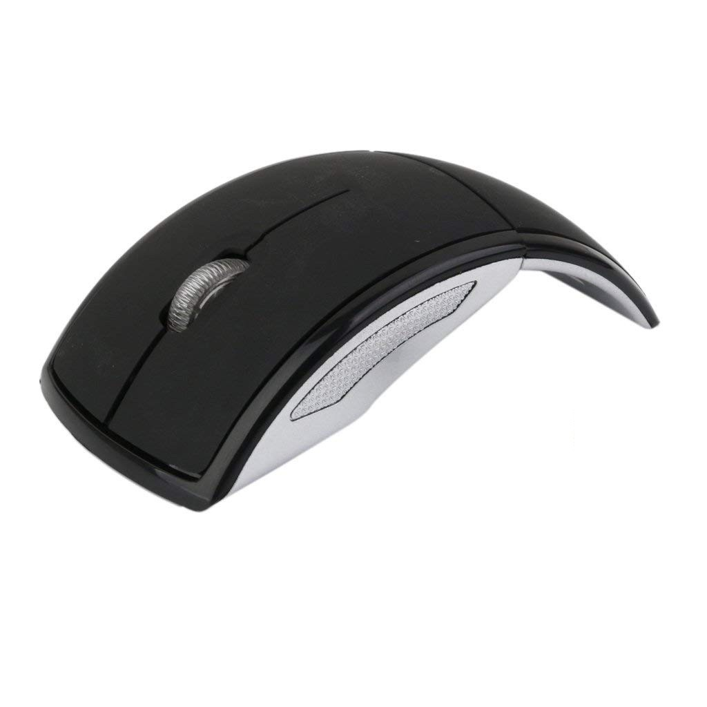 Mouse Wireless Pliabil M1 2.4G USB Receiver pentru Laptop PC imagine techstar.ro 2021