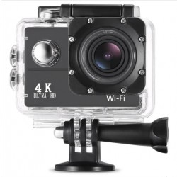 Camera Sport ActionCam F60 Ultra HD 4K 30 fps Ecran 2inch Negru