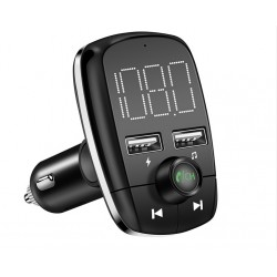 Modulator FM Auto Wireless T50 Car Kit Bluetooth MP3 Player Dual Usb Port