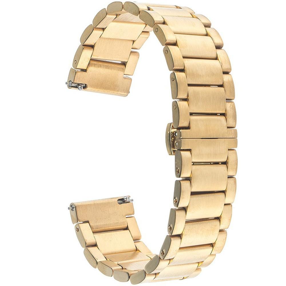 Curea ceas Smartwatch Samsung Gear S3, iUni 22 mm Otel Inoxidabil, Gold imagine techstar.ro 2021