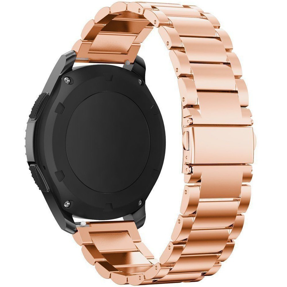 Curea metalica Smartwatch Samsung Gear S2, iUni 20 mm Otel Inoxidabil, Rose Gold imagine techstar.ro 2021