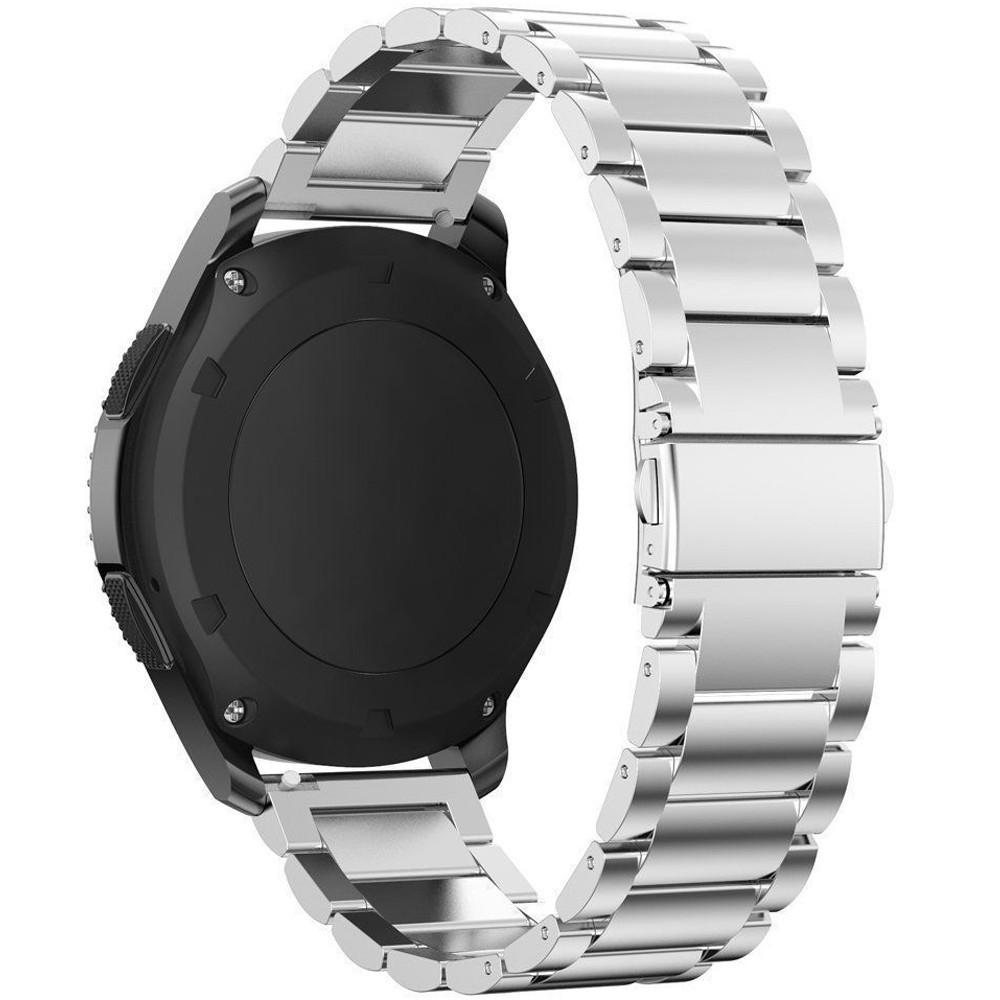 Curea metalica Smartwatch Samsung Gear S2, iUni 20 mm Otel Inoxidabil, Silver