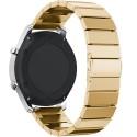 Curea pentru Smartwatch Samsung Gear S3, iUni 22 mm Otel Inoxidabil Gold Link Bracelet