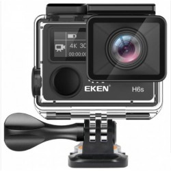 Camera Video Sport Originala EKEN H6S UltraHD 4k Stabilizator 14MP Wifi 2''LCD Telecomanda Senzor Panasonic Unghi 170 Grade
