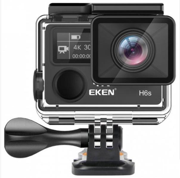 Camera Video Sport Originala EKEN H6S UltraHD 4k Stabilizator 14MP Wifi 2''LCD Telecomanda Senzor Panasonic Unghi 170 Grade imagine techstar.ro 2021