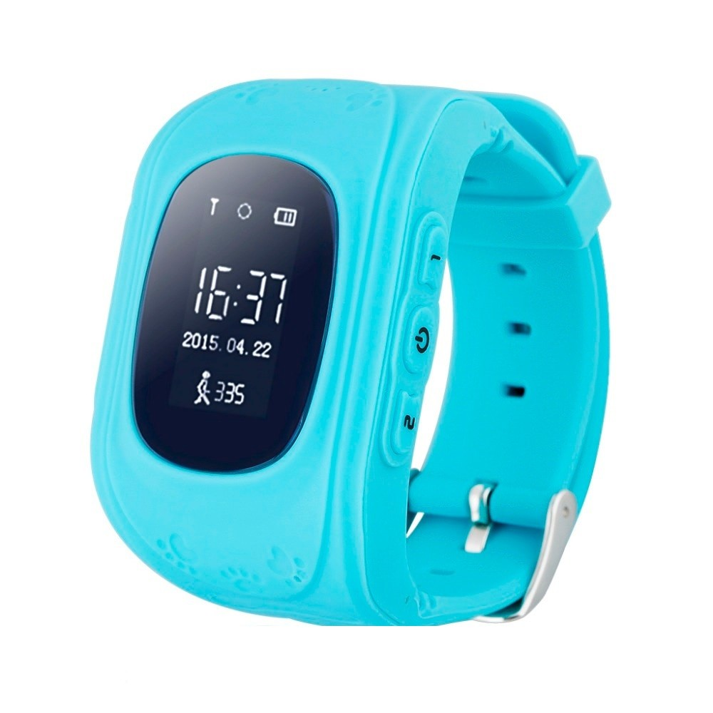 Ceas Smartwatch pentru Copii Albastru Q50+ Slot Cartela SIM, GPS Tracker, Buton Urgenta SOS, Monitorizare Live imagine techstar.ro 2021